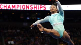 Simone Biles makes history, wins 5th U.S. All-Around title