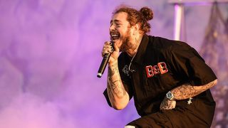 Plane reportedly carrying rapper Post Malone blows 2 tires taking off from airport
