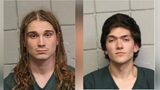 "Police say Owen Shearman (L) and Christopher Fetterman, both 19, broke into Windber High School, stole lab equipment and sprayed a fire extinguisher through the building because, ""There was nothing to do in this town."" Photo: Somerset County Jail"