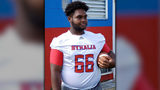 Dennis Mitchell, a sophomore on his high school varsity football team in Byhalia, Mississippi, suffered cardiac arrest during Friday night's game and later died at the hospital, family friends said.