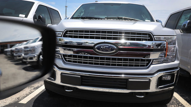 FORD F-150 RECALL: Ford recalling 2 million F-150 pickup