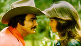 Actors Burt Reynolds and Sally Field in 1977 in the film 'Smokey and the Bandit'. Photo: Michael Ochs Archives/Getty Images