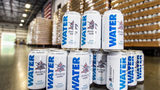 Anheuser-Busch has changed from beer production to water canning at its brewery in Cartersville, Georgia, in advance of Hurricane Florence.