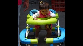 More than 9,000 US children injured annually in infant walkers, study says
