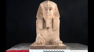 2,000-year-old Sphinx discovered in ancient Egyptian temple