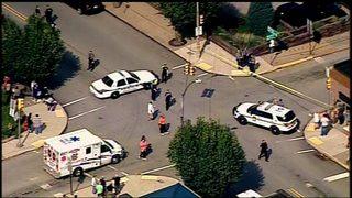 Gunman killed by police after shooting 4 at judge