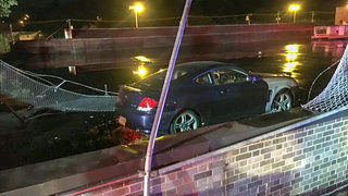 Car lands on roof of Pittsburgh supermarket, driver arrested for DWI