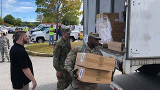 National Guard delivers 7,000 hot plates to residents affected by gas pipeline explosion
