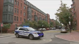 Boston officer taken to hospital after being shot