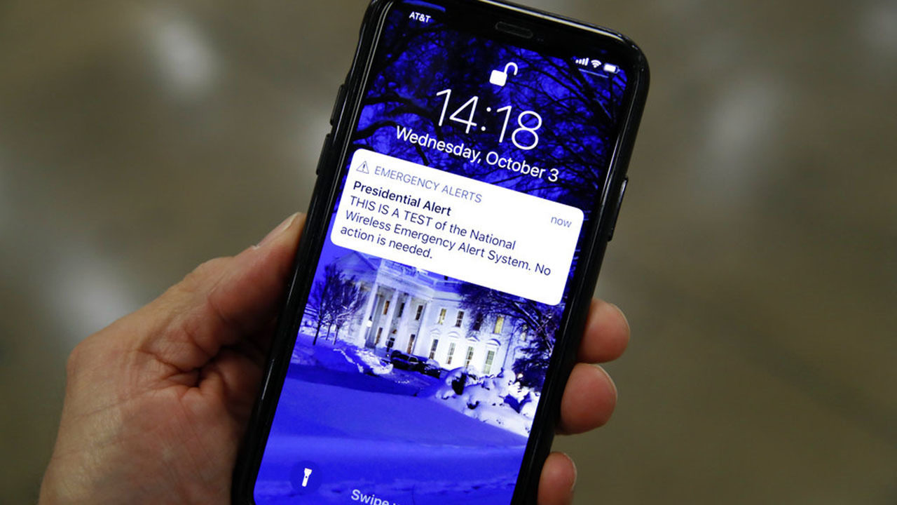 Here is why you may not have gotten the 'Presidential Alert