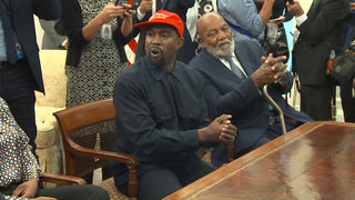 Kanye West talks MAGA hat, mental health, Air Force One, more in Trump meeting at White House