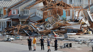 Firefighter dies while clearing Hurricane Michael debris