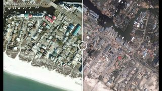 Photos: Before and after Hurricane Michael