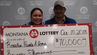 Waitress parlays tip into $70,000 lottery jackpot