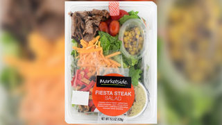 Ready-to-eat salad recalled for possible salmonella, listeria