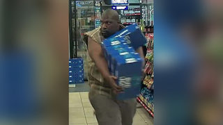 Man swipes 5 cases in 'textbook beer run,