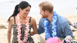 WATCH: Prince Harry, Meghan Ditch Shoes on Australia Beach
