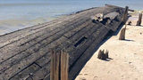 120-Year-Old Shipwrecks Exposed by Hurricane Michael