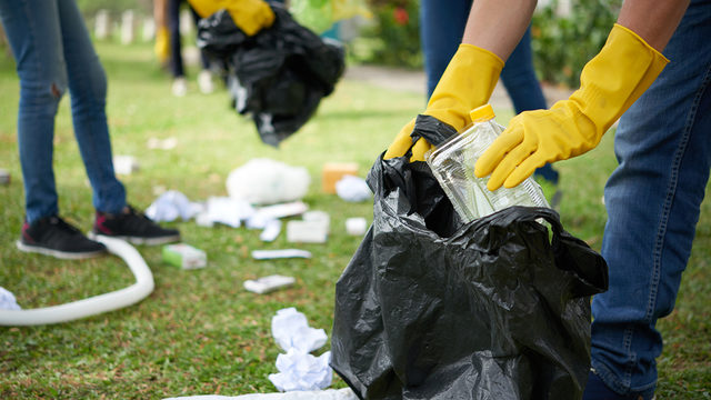 Homeless hired to clean up litter, trash in California city