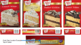 Duncan Hines announced it is recalling several varieties of cake mix due to potential threat of salmonella contamination.