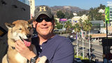 Paul Heroux took his dog Mura on a cross country trip. Mura is battling terminal cancer.