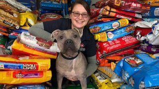 Texas pet shelter gets food donations from community