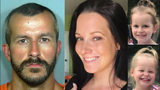 Christopher Watts, is charged with three counts of first-degree murder and three counts of tampering with physical evidence in connection with the Monday, Aug. 13, 2018, disappearance and deaths of his wife, Shanann Watts, and their daughters.