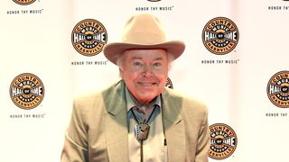 Country musician Roy Clark, of