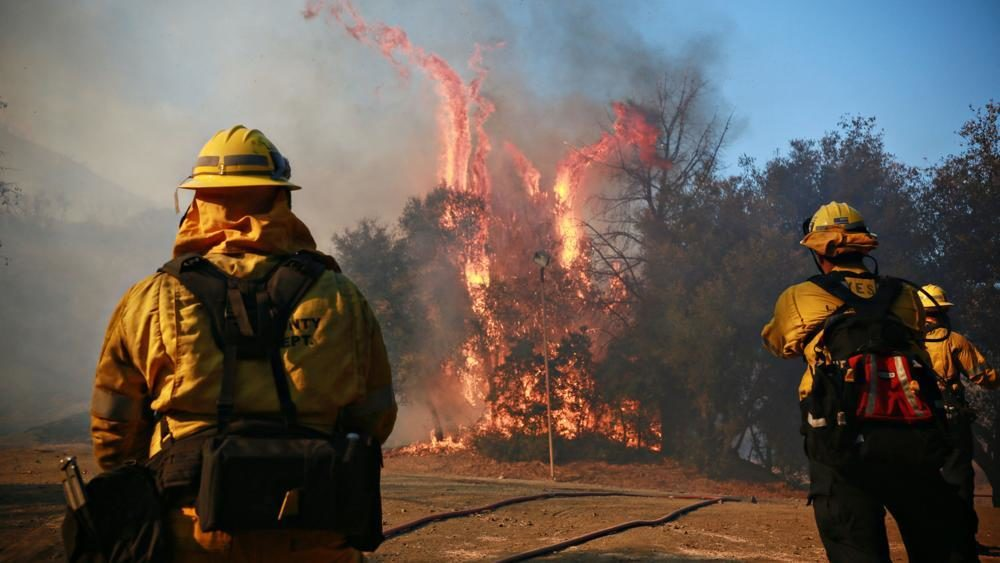 California wildfires See a map of major fires