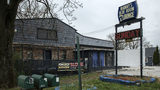 Manny's Blue Room Lounge, pictured, was the scene of the fatal police shooting of armed security guard Jemel Roberson early Sunday, Nov. 11, 2018, in Robbins, Illinois.  (Zbigniew Bzdak/Chicago Tribune via AP)