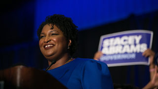 Stacey Abrams tells Hollywood not to boycott Georgia after Bryan Kemp wins governor