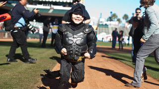 Batkid cancer-free 5 years after battling crime in San Francisco