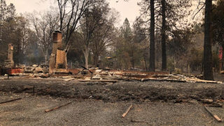 Florida man from Paradise, California working to help family who lost everything in deadly fire
