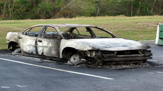 Two homeless men rescue unconscious driver from burning car