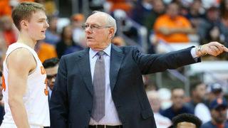 Syracuse misspells last name on jersey of coach Jim Boeheim