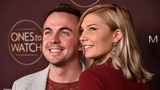 """Frankie Muniz and girlfriend, Paige Price, attend People's """"Ones To Watch"""" at NeueHouse Hollywood on October 4, 2017 in Los Angeles, California."""