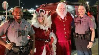 Florida officers escorting Santa bust theft ring
