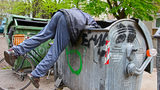 Homeless Man Goes Dumpster Diving to Retrieve Lotto Ticket Worth $4.82M