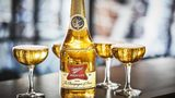 Miller High Life is being sold in limited-run champagne bottles for the 2018 holiday season.
