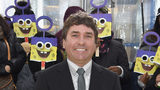 """Executive Producer Stephen Hillenburg attends the World Premiere of """"The SpongeBob Movie: Sponge Out Of Water 3D"""" in 2015 in New York. Hillenburg died of ALS in 2018."""