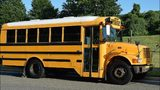 A boy attempting to board a school bus in Tennessee was hit by a car traveling in the opposite direction Tuesday morning.