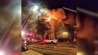 Philadelphia apartment fire: 5-alarm blaze contained