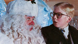Peter Billingsley sits on Santa's lap in a scene from the film 'A Christmas Story', 1983. Photo: Metro-Goldwyn-Mayer/Getty Images