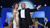 President Donald Trump and First Lady Melania Trump dance at the Freedom Ball on January 20, 2017 in Washington, D.C. The Trumps attend a series of balls capping off his Inauguration day festivities. Photo: Pool/Getty Images