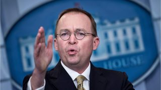 President Trump names Mick Mulvaney acting White House chief of staff