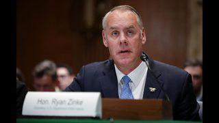 Interior Secretary Ryan Zinke resigning, Trump confirms