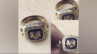Woman trying to return U.S. Army ring found at Georgia Dairy Queen