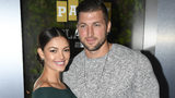 Tim Tebow, left, and Demi-Leigh Nel-Peters. Tebow and Nel-Peters confirmed their engagement on Jan. 10.