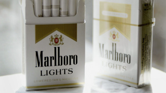 Marlboro's parent company moving away from cigarettes
