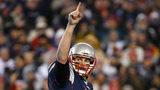 FOXBORO, MA - JANUARY 22: Tom Brady #12 of the New England Patriots 2017 in Foxboro, Massachusetts. (Photo by Jim Rogash/Getty Images)